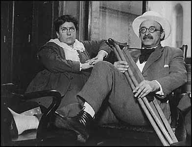 Emma Goldman and Alexander Berkman in 1917