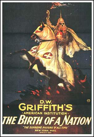 Image result for The Birth of a Nation 1915 D.W. Griffith