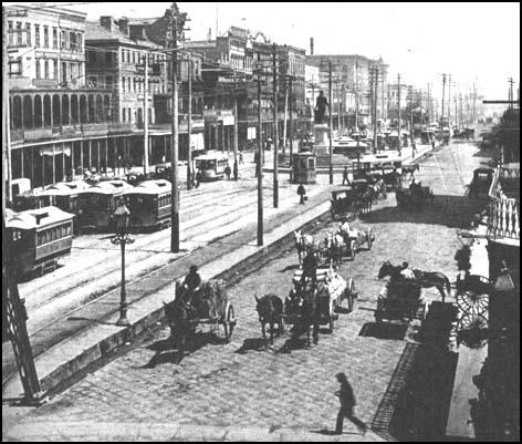 New Orleans in 1890