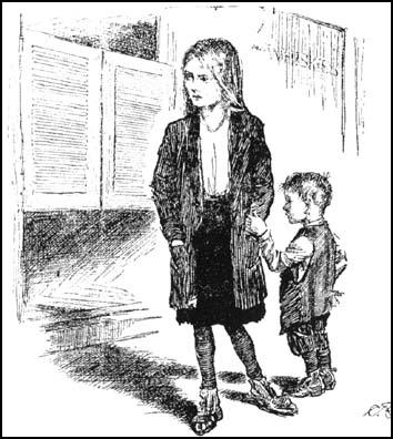 """Daddy's in there. Our shoes, and stockings and clothesand food are in there, too, and they'll never come out."" Chicago Sun Times (1927)"