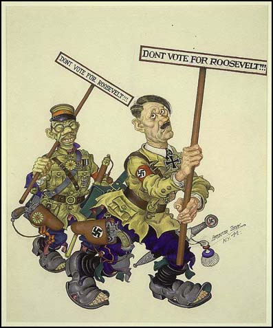 Arthur Szyk, Don't Vote for Roosevelt (1944)
