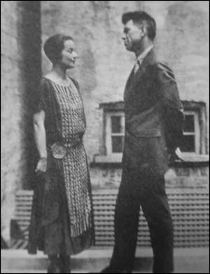 Jane Grant and Harold Ross