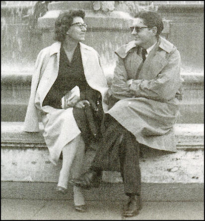 Jean Rouverol and Hugo Butler in Rome