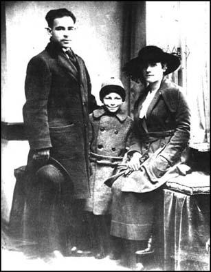 Photograph of the Sacco family taken in Boston on the day the murders took place.