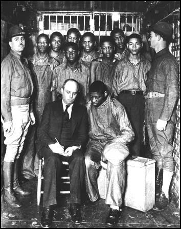 The Scottsboro prisoners in 1935