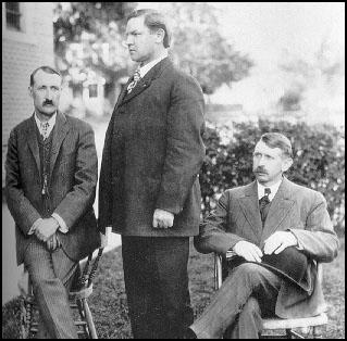 Charles Moyer, Bill Haywood and George Pettibone in 1907