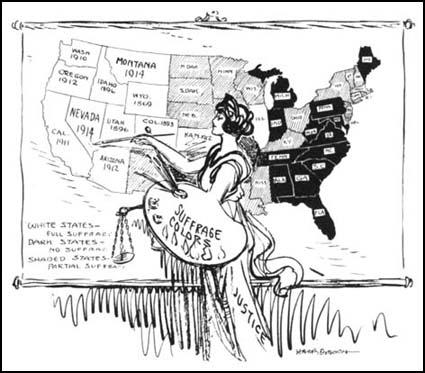 Harry Osborn, Two More Bright Spots on the Map,Maryland Suffrage News (14th November, 1914)