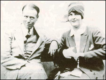 Sinclair Lewis and Dorothy Thompson in 1928.