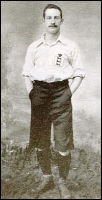 Billy Bassett in his England kit.