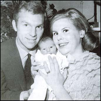 Bobby and Tina Moore with Roberta in 1965.