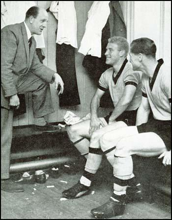 Stan Cullis, Ron Flowers and Bill Slater