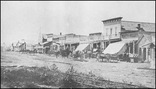 Dodge City in 1883