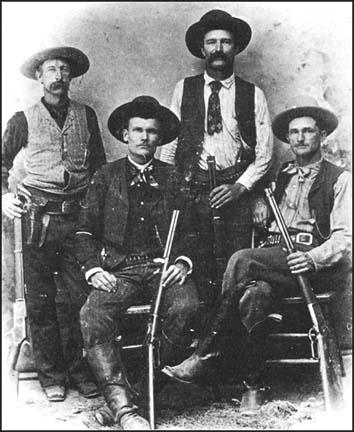 Texas Rangers in the 1890s