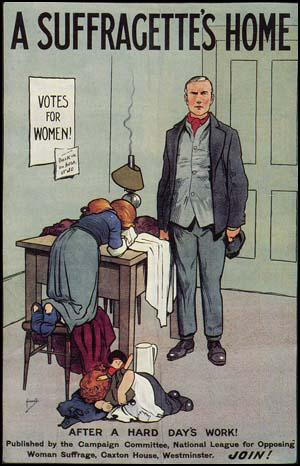 Anti-Suffrage Poster by John Hassall (1912): spartacus-educational.com/Wanti.htm