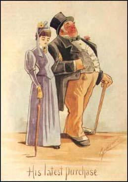 Martin Anderson was a Scottish artist who producedseveral postcards like the one above in support ofthe women's suffrage movement. The postcard refersto the Married Women's Property Act.