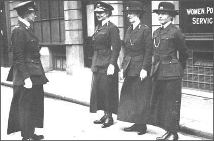 Women's Police Service during the First World War.